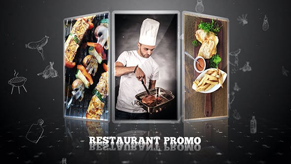Thumbnail for Restaurant Promo | After Effects Template