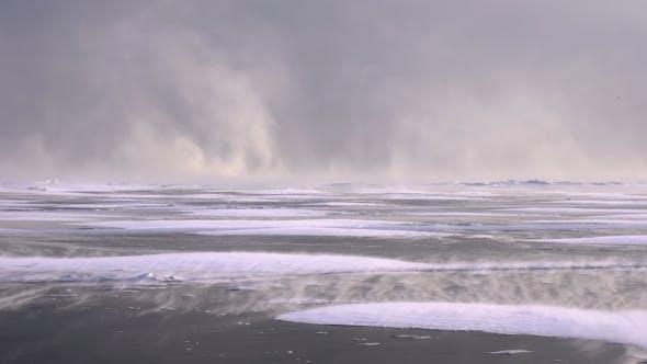 Thumbnail for Snow Storm on Frozen Lake Baikal