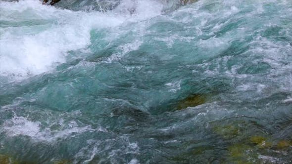 Cover Image for Mountain River Water with