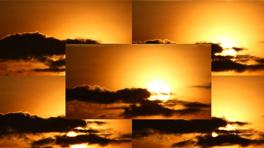 Thumbnail for Sunrise Behind Cloud (Pack of 5)