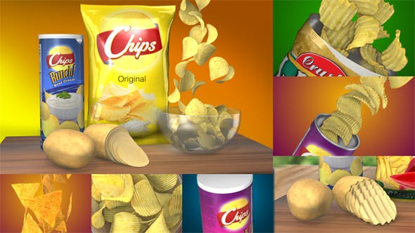 Thumbnail for 3D Chips Commercial