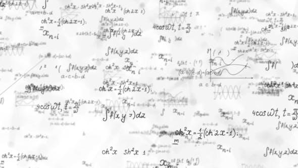Mathematical Formula Calculations Background