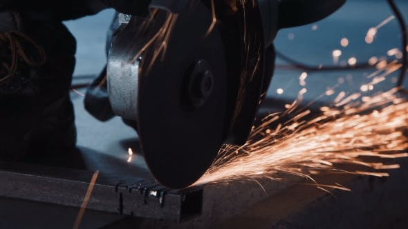 Thumbnail for Working Angle Grinder