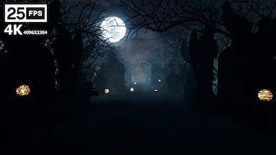 Halloween Grave 4K