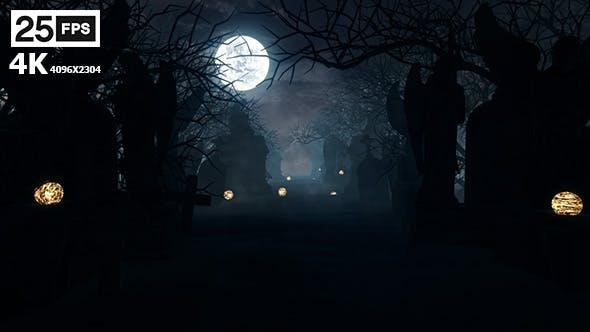 Thumbnail for Halloween Grave 4K