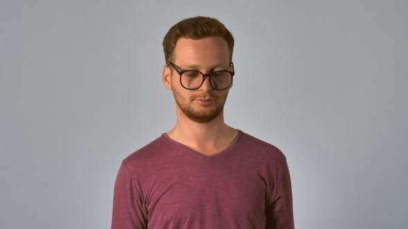 Thumbnail for Redhead Male Glasses