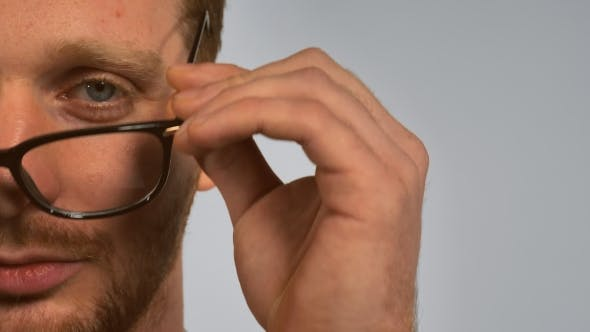 Thumbnail for Portrait Smart Men with Spectacles
