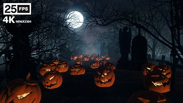 Cover Image for Halloween Grave 02 4K