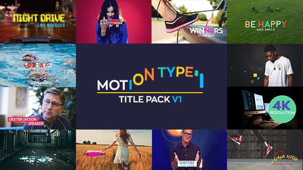 Thumbnail for Motion Type - Titles Pack