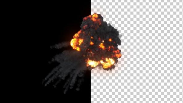 Aerial Explosion