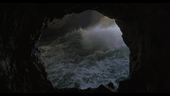 Thumbnail for Sea Cave and Rough Water Stream in Rosh Hanikra