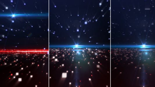 Thumbnail for Red & Blue Particle Pack vol.2(3 backgrounds)