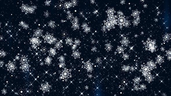 Thumbnail for Snowfall Loop