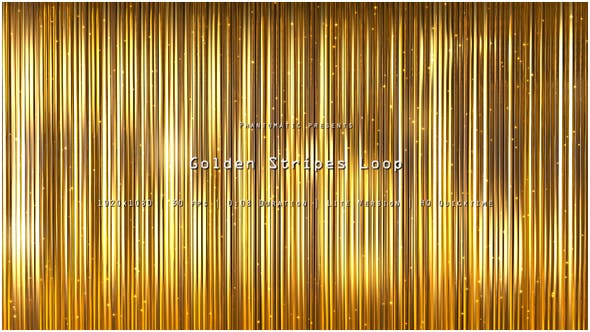 Thumbnail for Golden Stripes Glitter 11