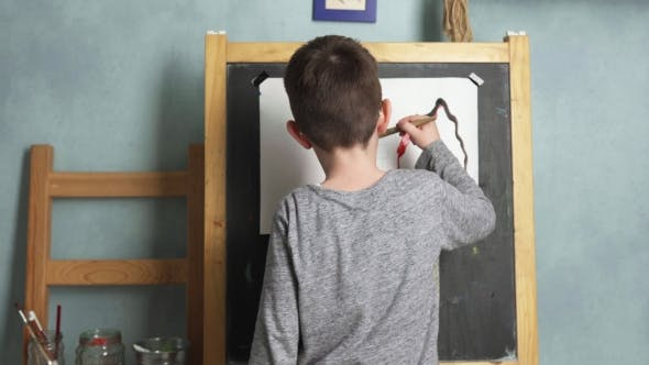 Thumbnail for Child Drawing House
