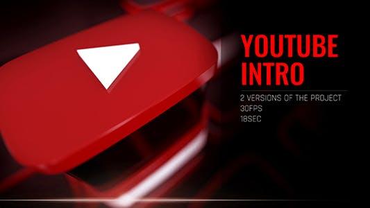 Thumbnail for YouTube Интро. Открытие блоггеров/ Продвижение контента/Vlog и образ жизни/Шлюминесс и запрос/Insta