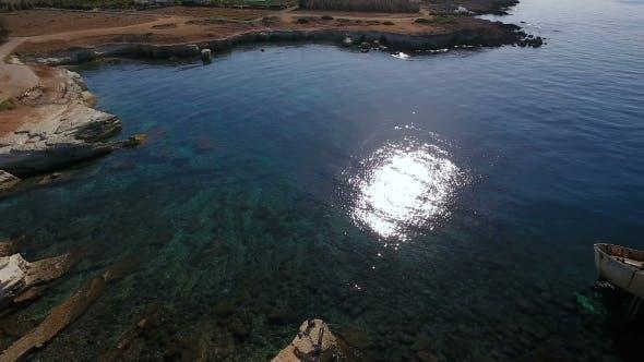 Thumbnail for Old White Ship on the Mediterranean Sea