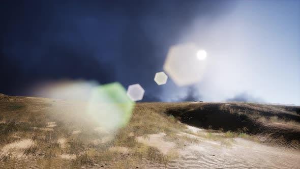 Smoke Over Dunes