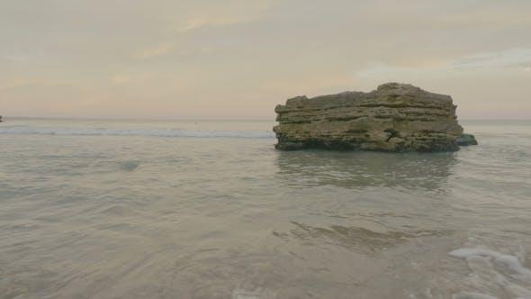Thumbnail for Sea Waves Splashing on the Rocks