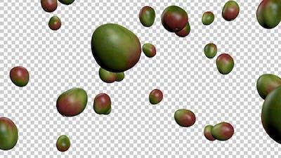 Falling Mangos