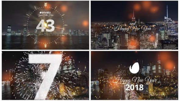 Thumbnail for Minimal New Year Countdown 2019