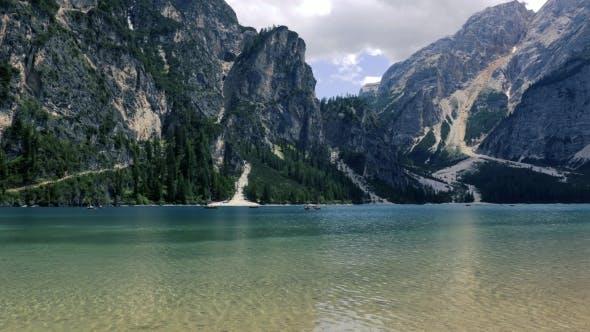 Thumbnail for Lake Lago Di Braies in Dolomites, Italy Alps