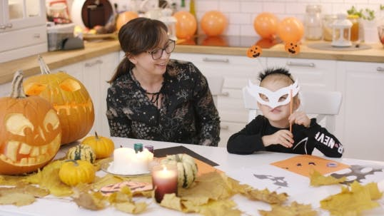 Thumbnail for Girl Fitting Mask