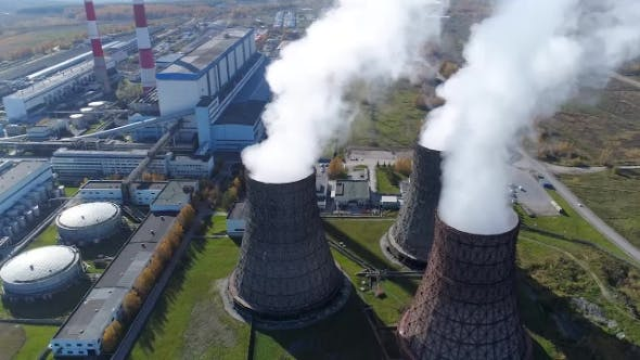 Thumbnail for Top View of Pollution Environment By Emission Smoke