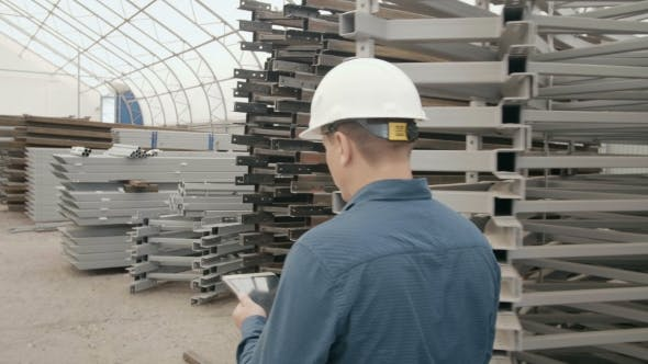 Thumbnail for The Engineer Keeps a Record in the Warehouse of Metal Structures