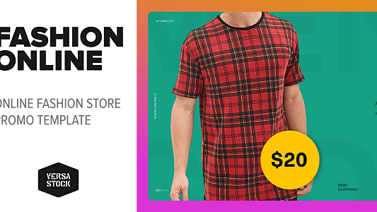 Thumbnail for Fashion Online Web | Promo