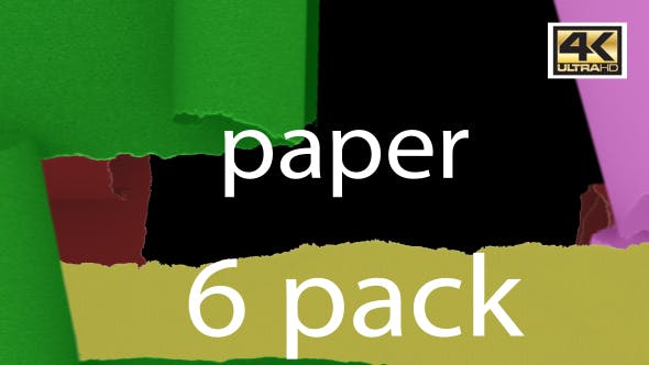 Cover Image for Paper Transition  4K