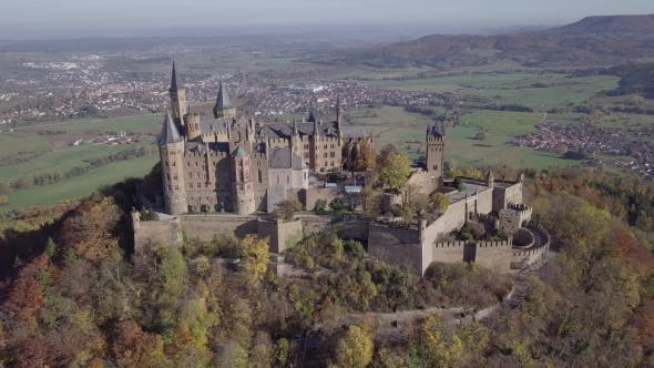 Thumbnail for Flight Around Hohenzollern Castle, Germany
