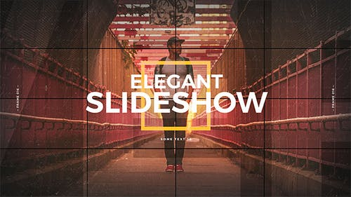 Elegant Slideshow / Photo Album / Memories Gallery / Vintage Opener / Travel and Journey