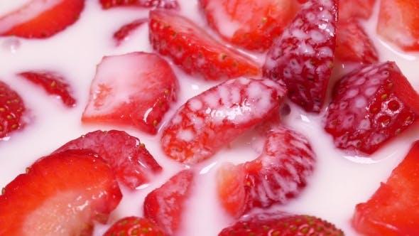 Thumbnail for Fresh Strawberries In Yogurt