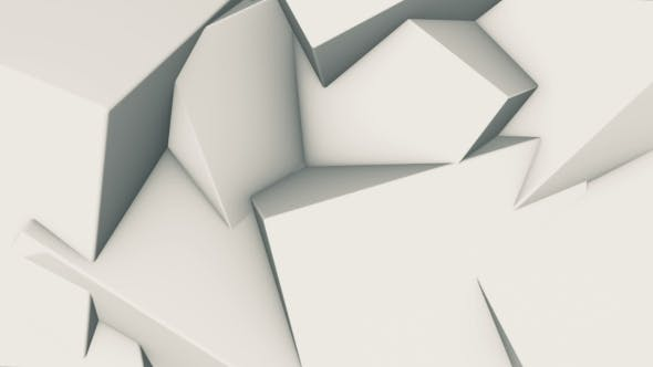 Thumbnail for Abstrakter Hintergrund rotierender Würfel