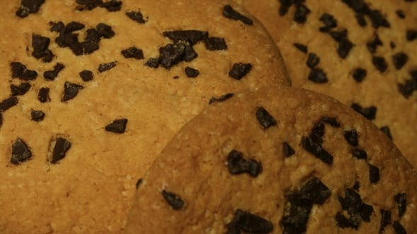 Thumbnail for Tasty Chip Cake Cookies with Chocolate Pieces Shallow