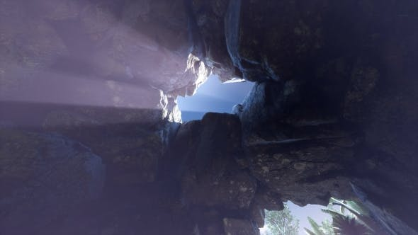 Thumbnail for Sun Light Inside Mysterious Cave