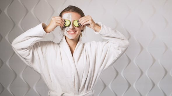 Thumbnail for Cucumber Fun During Face Care