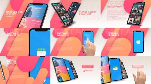 Phone X - Fast App Promo