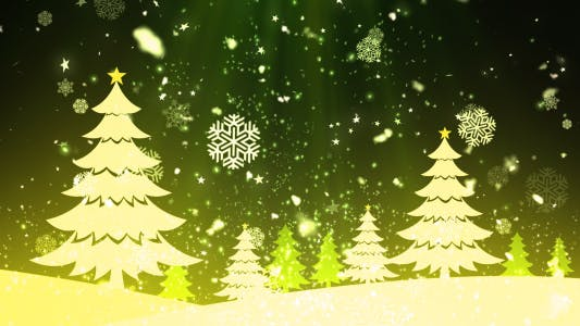 Thumbnail for Christmas Tree Snow 1