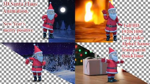 Santa Animation Christmas