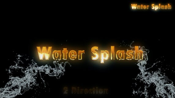 Thumbnail for Water Splash