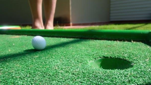 Cover Image for Mini Golf Scene