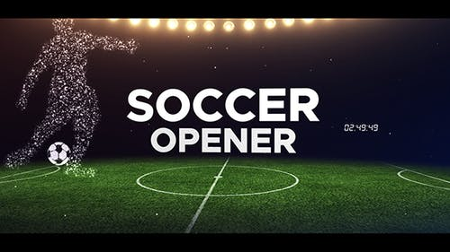 Soccer Opener | After Effects Template