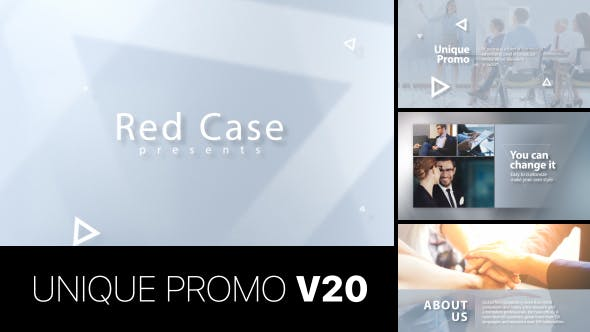 Thumbnail for Unique Promo v20 | Corporate Presentation