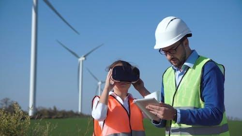 Engineers Using Virtual Reality