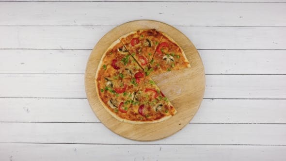 Cover Image for Top View of Baking Vegetables Pizza