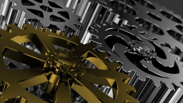Thumbnail for Gears Concept Connecting Mechanism