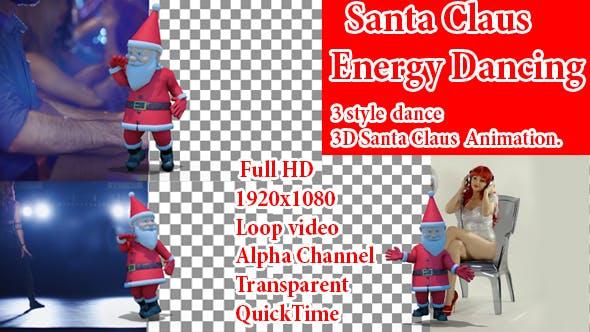 Thumbnail for Event Christmas Cool Dance Santa