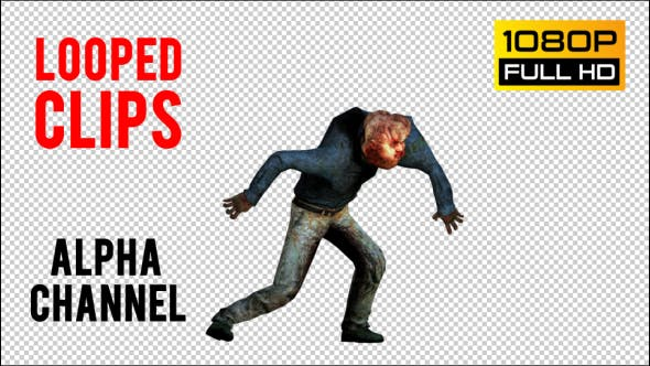 Thumbnail for Zombie 24 Realistic Pack 3